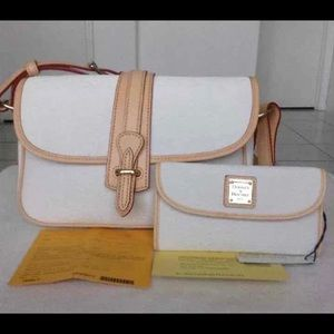 Dooney & Burke handbag and wallet NWT